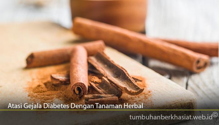 Atasi Gejala Diabetes Dengan Tanaman Herbal